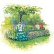 Туристическая деревня Денежный ключ - иконка «сад» в Воткинске